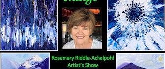 """Indigo"" – Artist Rosemary Riddle-Achelpohl's Show & Reception"