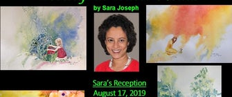 """Worship in Water Media"" by Sara Joseph – Featured artist Show"