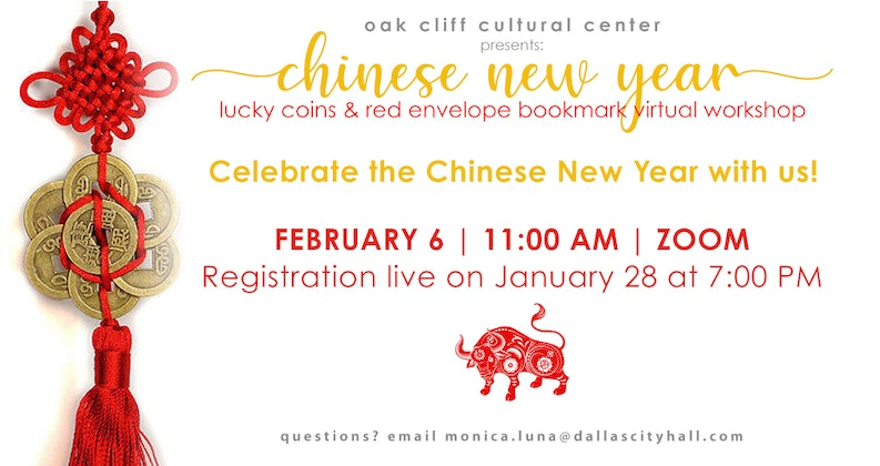 Chinese New Year - virtual workshop