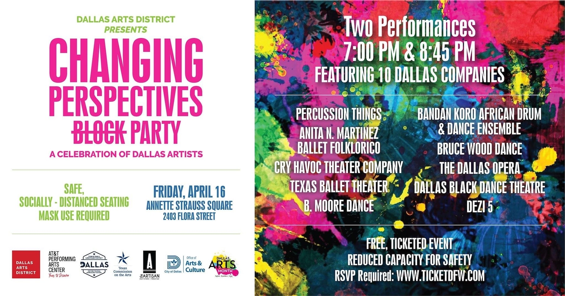 Changing Perspectives: A Celebration of Dallas Artists