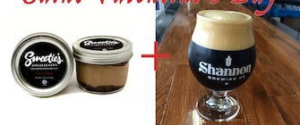 Shannon Brewery Valentine's Day Cheescake and Beer Pairing