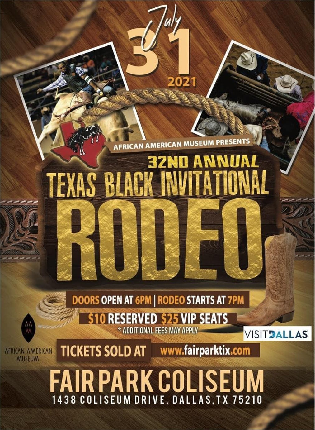32nd Annual Texas Black Invitational Rodeo