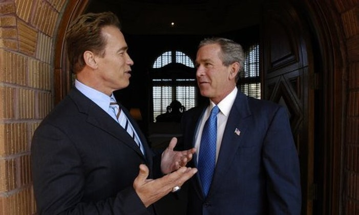A Conversation with Governor Arnold Schwarzenegger & President George W. Bush