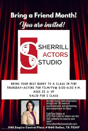 Free Acting Class in February!