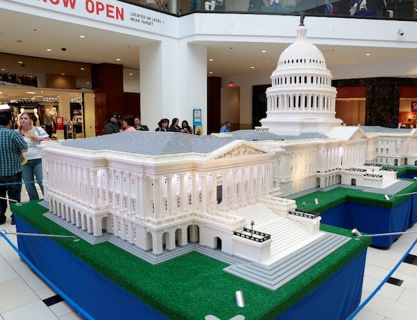 THE LEGO® AMERICANA ROADSHOW: BUILDING ACROSS AMERICA TO BE HELD AT STONEBRIAR CENTRE IN FRISCO