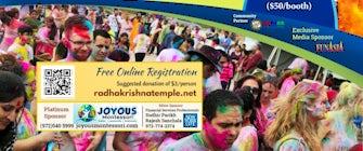 Dallas HoliFest @Fair Park– *FREE* Festival of Colors by Radha Krishna Temple of Allen