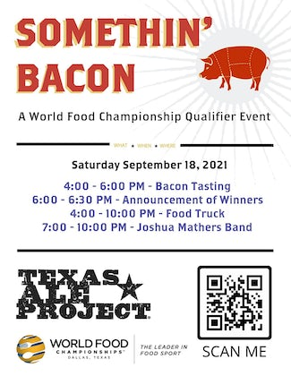 Somethin' Bacon at Texas Ale Project