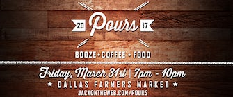Pours-Booze, Coffee & Food