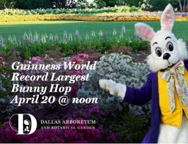 Easter Activities at the Dallas Arboretum