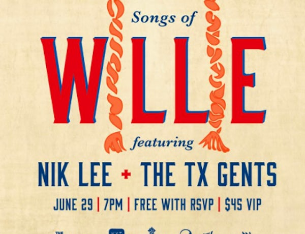 Celebrate The Songs Of Willie Nelson At The Rustic