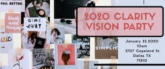 Circle of love presents Clarity Vision Board Party