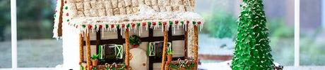 Gingerbread Workshops at Hotel Crescent Court
