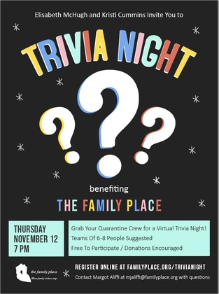 Trivia Night benefiting The Family Place