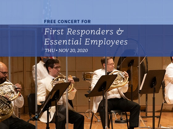 Free Concert for First Responders and Essential Employees