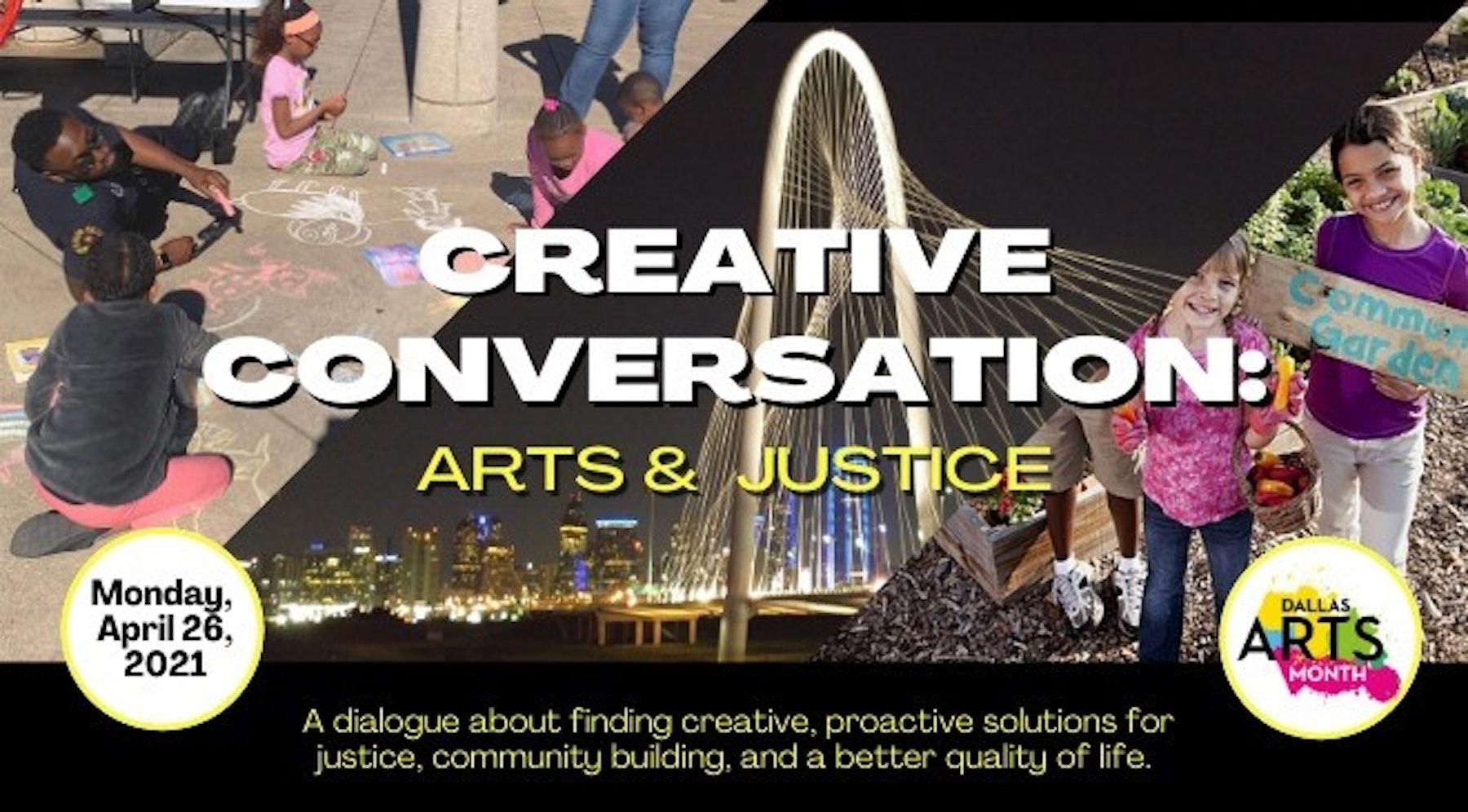 Creative Conversation: Arts and Justice
