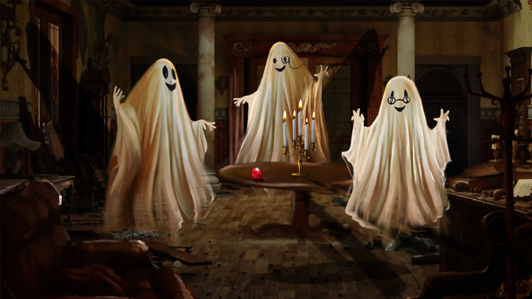 The Ghosts of Craven Manor: Online Escape Game Experience
