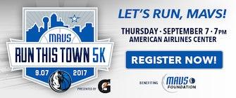 2017 Mavs Run This Town 5K