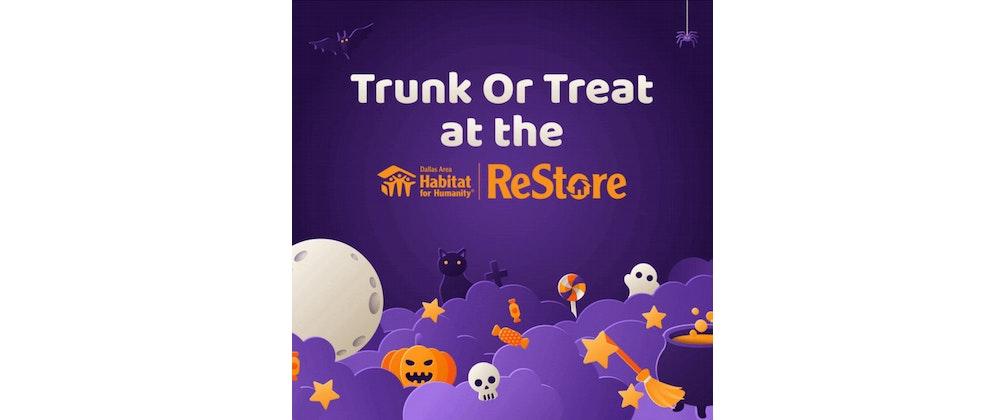 Trunk or Treat at Dallas Habitat ReStores