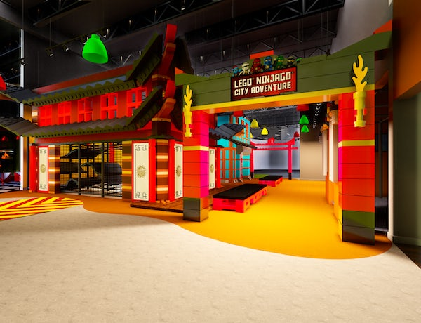 Two New Attractions Open In Time For Spring Break at Legoland Discovery Center