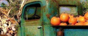 Rusty Truck Vintage Pop Up Market