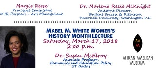 African-American Museum of Dallas Hosts Women's History Month Celebration