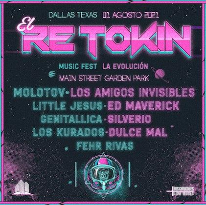 El Retokin Dallas - Music Festival - Molotov concert