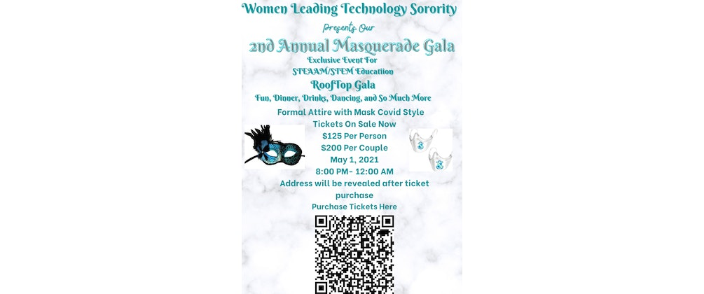 Women Leading Technology Masquerade Gala for STEM and STEAAM Education