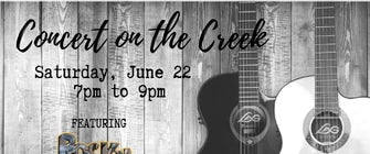 Concert on the Creek featuring Rocky Soul