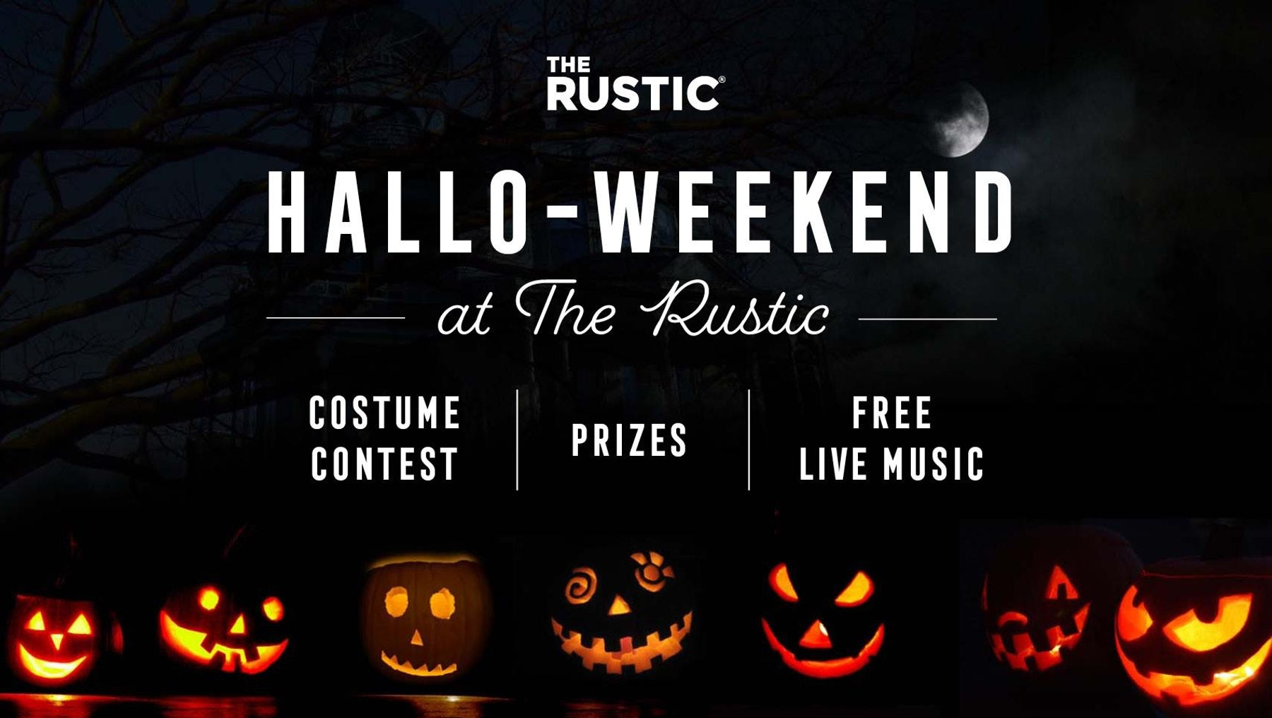 Halloween Weekend at The Rustic
