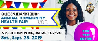 2019 Dallas Community Health Fair