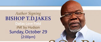 T.D. Jakes Book Signing at DAL Airport