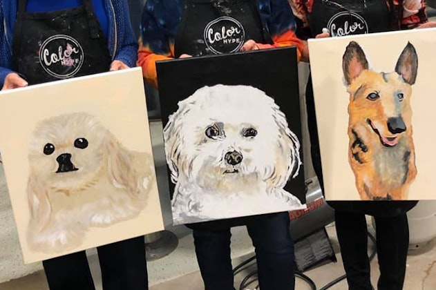 Paint Your Pet at Reunion Tower