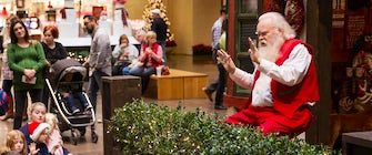 Storytime with Santa Claus at NorthPark
