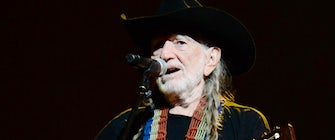 Willie Nelson at Outlaw Music Festival