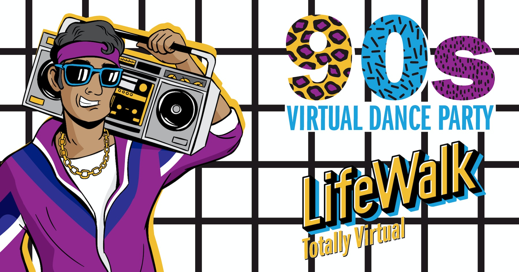 90s Virtual Dance Party