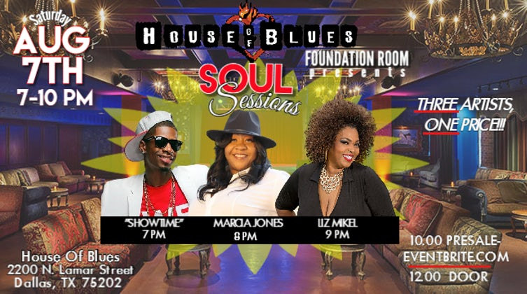 SOUL SESSIONS at The House Of Blues Foundation Room