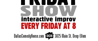 Big Friday Show Interactive Improv