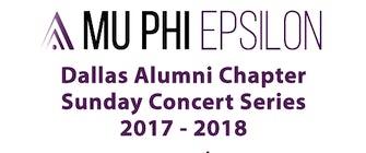 Mu Phi Epsilon Concert: Jonathan Tsay, piano