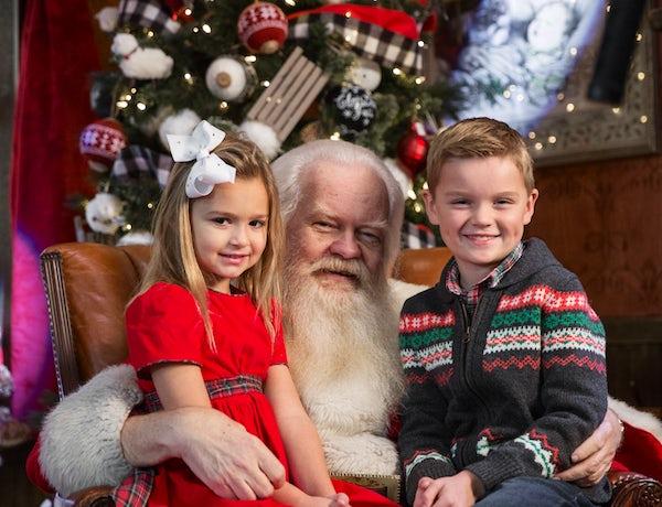 Visits and Portraits with Santa at NorthPark