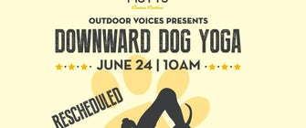 Outdoor Voices presents Downward Dog Yoga at MUTTS