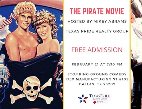 Pirate Movie Sing-a-long Party