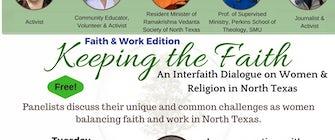 Keeping the Faith, Faith & Work Edition; an interfaith dialogue