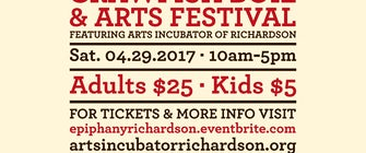 The 7th Annual Epiphany Richardson Crawfish Boil and PopUP Art Sale