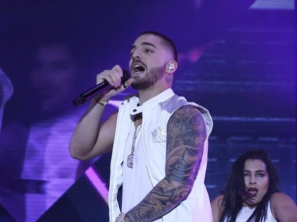 Maluma In Concert At American Airlines Center
