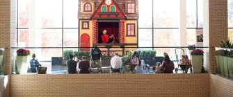 Santa's Toy Shoppe Puppet Theatre