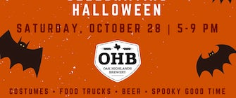 Halloween Family Night at OHB