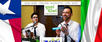 Quei Kiwi Italian Duo Live at Z Grill and Tap