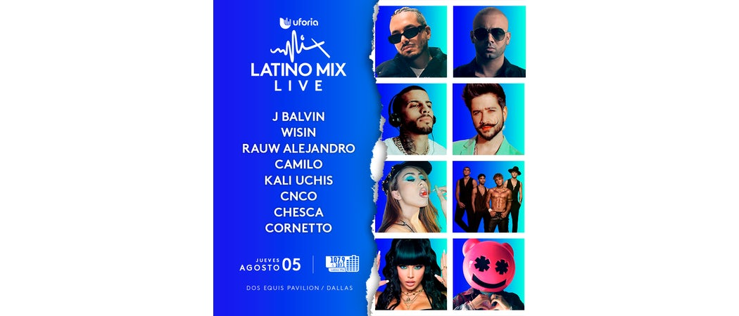 Uforia Latino Mix Live