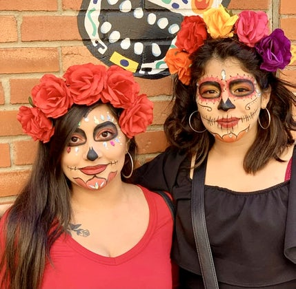 Dia de Los Muertos Celebration at Taqueria La Ventana