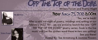Jazz BeCuzz Presents: OFF THE TOP OF THE DOME